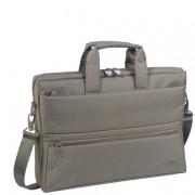 Rivacase 8630 borsa per notebook 39,6 cm (15.6'') Borsa da corriere Bei