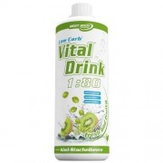Best Body Nutrition Low Carb Vital Drink 1000ml Kiwi Goose
