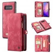 Bolsa Multifuncional Caseme 2-em-1 para Samsung Galaxy S10 - Vermelho
