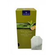 Ceai plic Sir Henry Lamaie si ceai verde 25buc