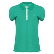 Camisa Polo Seeder Feminina com Renda Verde