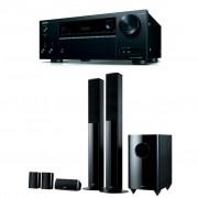 Pachet Receiver AV Onkyo TX-NR555 + Boxe Onkyo SKS-HT728