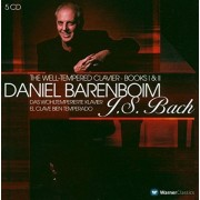 Daniel Barenboim - J.S.Bach:The Well-Tempered Clavier-Books I & II (5CD)