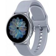 "Smartwatch Samsung Galaxy Watch Active 2 SM-R820, Procesor Dual-Core 1.15GHz, Super AMOLED 1.4"", 768MB RAM, 4GB Flash, Bluetooth, Wi-Fi, Carcasa Aluminiu, Bratara Cauciuc 44mm, Rezistent la apa si praf, Tizen (Argintiu)"