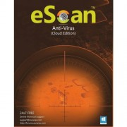 Antivirus, eScan Anti-Virus with Cloud Security, 3 user/1 year, for Windows (ES-AVV14-3)