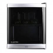 Klarstein Bere Locker mini-frigider 46 litri 15 de sticle de clasă B negru Negru