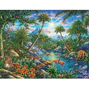 Springbok Puzzles Discovery Island Jigsaw Puzzle (100 Piece)