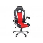 SPORT kancelářská židle křeslo KT-D035 červená