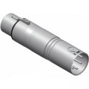 VC155 - Adapter Xlr Female 3-pin - Xlrmale 5 Pin Dmx