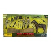 Power Team Elite World Peace Keepers-War Horse and Poseable Action Figure and Accessories