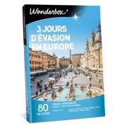 Wonderbox Coffret cadeau 3 jours d'évasion en Europe - Wonderbox