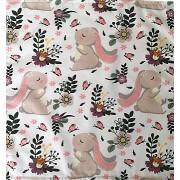 160 cm széles aranyos állatkás mintás 100% pamut textil