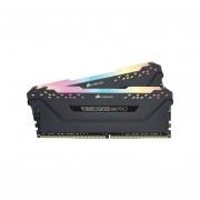 Memoria Corsair Vengance RGB Pro DDR4 PC4-21300 (2666MHz), 16 GB (2 x 8GB). CMW16GX4M2A2666C16