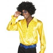 Disco blouse geel