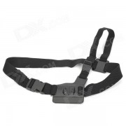 SMJ Arnes de cinturon con forma de correa para Gopro Hero 4 / 3+ / 3/2/1 / SJ4000 - Negro