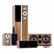 Auna Linie-501-WN 5.1 Sistema de sonido home cinema 600W RMS (PL-25-28-31-34-608)