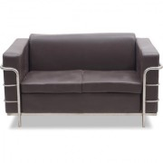 Fabsy Interior - Milano Office Sofa 3 Seater In Brown By Fabsy Interiors