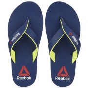 Reebok Mens Blue Slippers