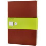Moleskine - Notes 3 ks - čistý, červený XL