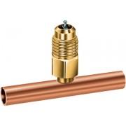 Valve Schrader 1/4'' sur T