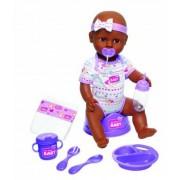 Simba Mörkhyad Baby born interaktiv docka