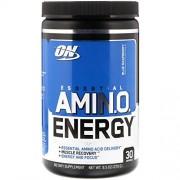 OPTIMUM NUTRITION On, Amino Energy, On, Sabor Frambuesa Azul, 30 servicios, 270g