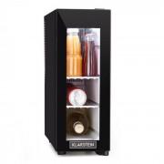 Frosty 13l vinkylskåp 8-18°C glasdörr 35dB kompakt svart