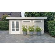 Van Kooten Tuin en Buitenleven Blokhut/Tuinhuis Hillegom 500x300 cm 44 mm