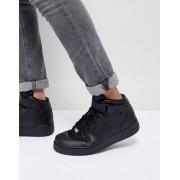 Nike Черные кроссовки Nike Air Force 1 mid '07 315123-001 - Черный