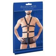 Svenjoyment Powernet Boxer Brief & Harness Set Black 2150379