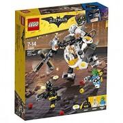 Lego batman movie 70920 egghead battaglia a colpi di cibo con il mech