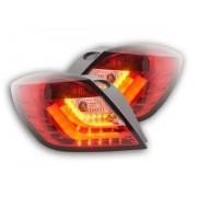 FK-Automotive fanali a LED posteriori Opel Astra H GTC anno di costruzione 04-08 rosso/chiaro