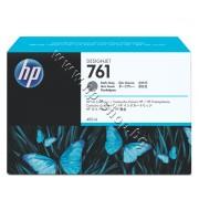 Мастило HP 761, Dark Gray (400 ml), p/n CM996A - Оригинален HP консуматив - касета с мастило