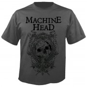 tricou stil metal bărbați Machine Head - Clock GREY - NUCLEAR BLAST - 2687_TS