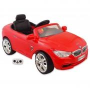 Elektromos piros BMW távirányítóval