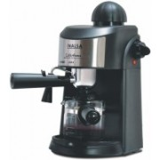 Inalsa Aroma Coffee Maker with 4 Cups Capacity 4 Cups Coffee Maker(Black)