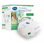 Aparat de aerosoli cu compresor Sanity Alergia Stop si Inhaler cupa medicamente 10 ml