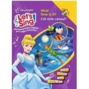 Lets sing - What time is it - Cat este ceasul - Carte+CD