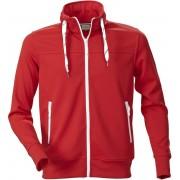 Printer Jog Sweatshirt 2262036 Rood - Maat S