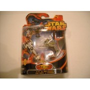 Star Wars Micro Vehicles AT-RT and Barc Speeder With Clone Trooper and Chewbacca