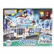 Giochi Preziosi Pinypon Action - Stazione della Polizia con 2 personaggi