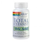 Total Cleanse Uric Acid Solaray Secom 60cps