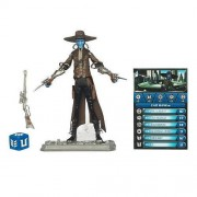Star Wars 2010 Clone Wars Animated Action Figure CW No. 13 Cad Bane
