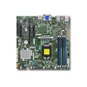 Supermicro X11SSZ-F server/workstation motherboard LGA 1151 (Presa H4) Micro ATX Intel® C236