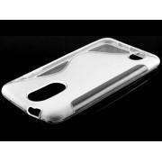 Wave Case for LG K4 (2017) - LG Soft Cover (Clear)