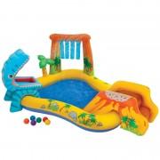Centru de joaca gonflabil Intex Dino 57444NP pentru copii