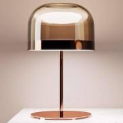 FONTANA ARTE Lámpara de mesa LED Equatore, cobre, 60 cm
