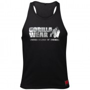 Gorilla Wear Classic Tank top - Silver - XXL