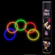 "50 Pcs. 8"" Glow Bracelet Neon Light Stick Camping Party Favor Bracelets"