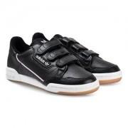 adidas Originals Continental 80 Kardborre Sneakers Svart Barnskor 33 (UK 1)